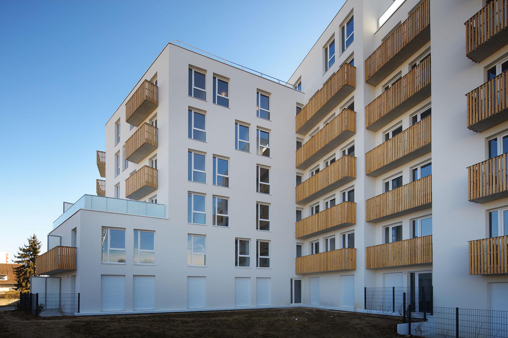 Saa Architectes Logements Rosnysousbois Gabrielperi06