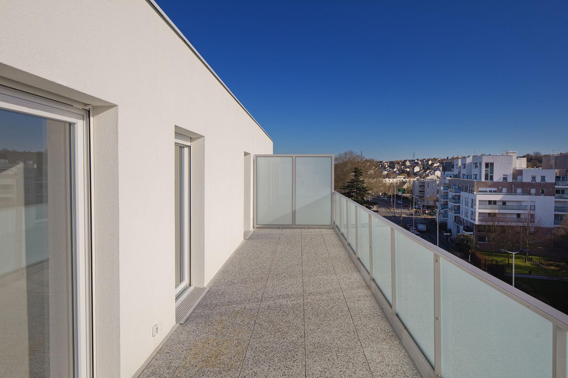 Saa Architectes Logements Rosnysousbois Gabrielperi13