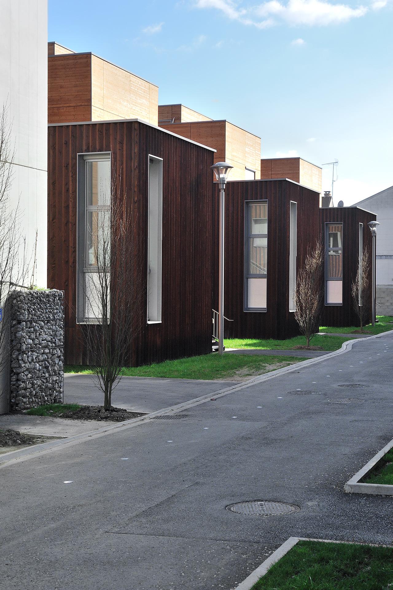 Saa Architectes Logements Villa Respiro Romainville