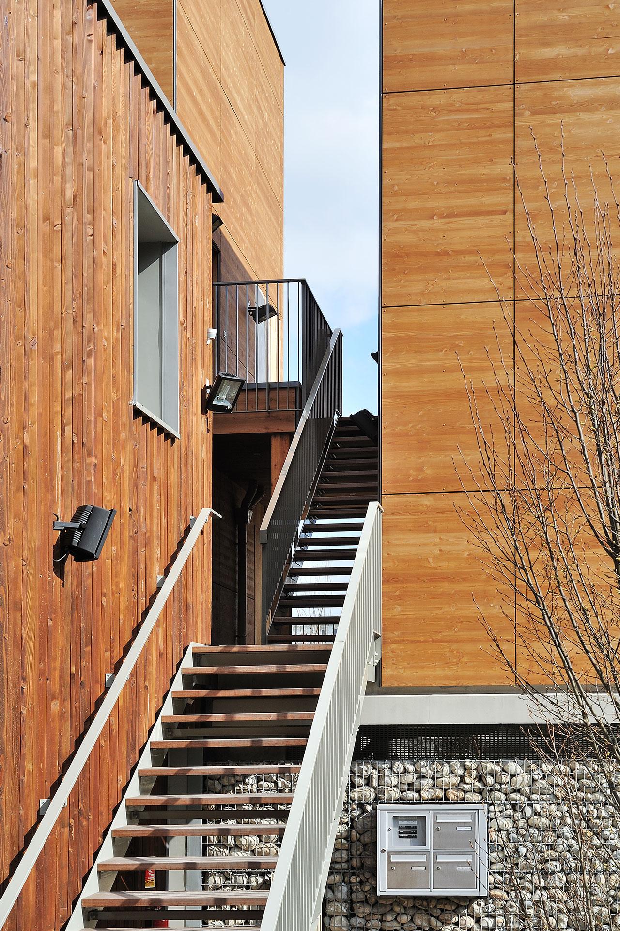 Saa Architectes Logements Villa Respiro Romainville03