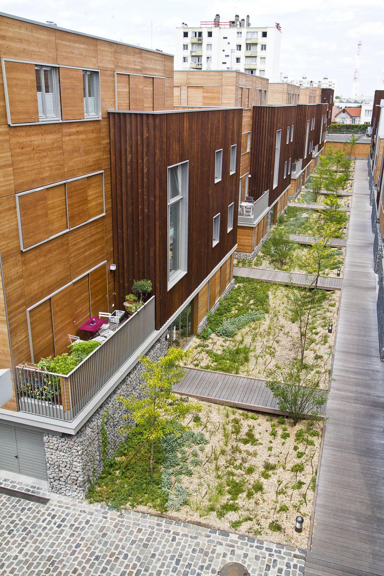 Saa Architectes Logements Villa Respiro Romainville05