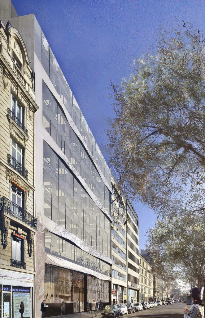 Saa Architectes Bureaux Gim Neuillysurseine