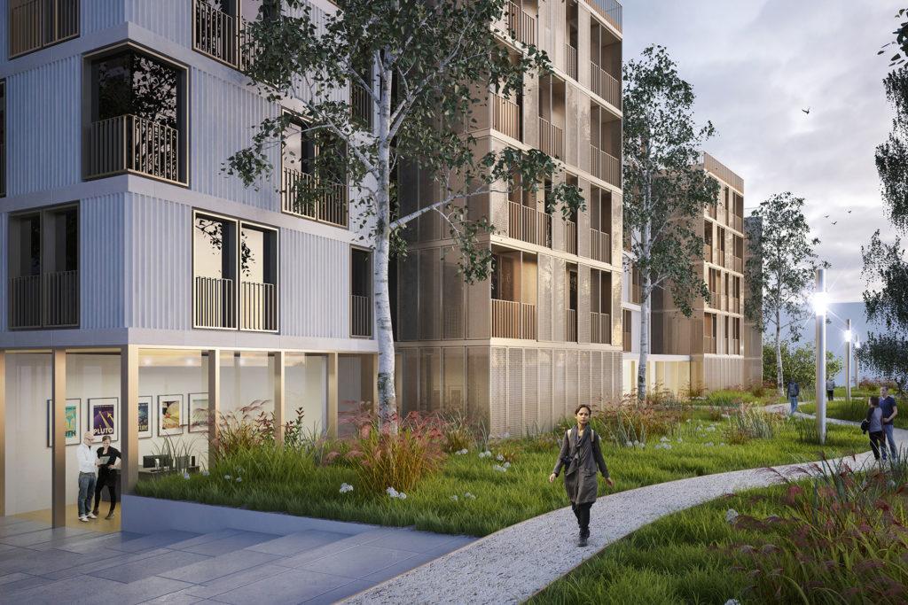 Saa Architectes Logements Moulon Gif Sur Yvette