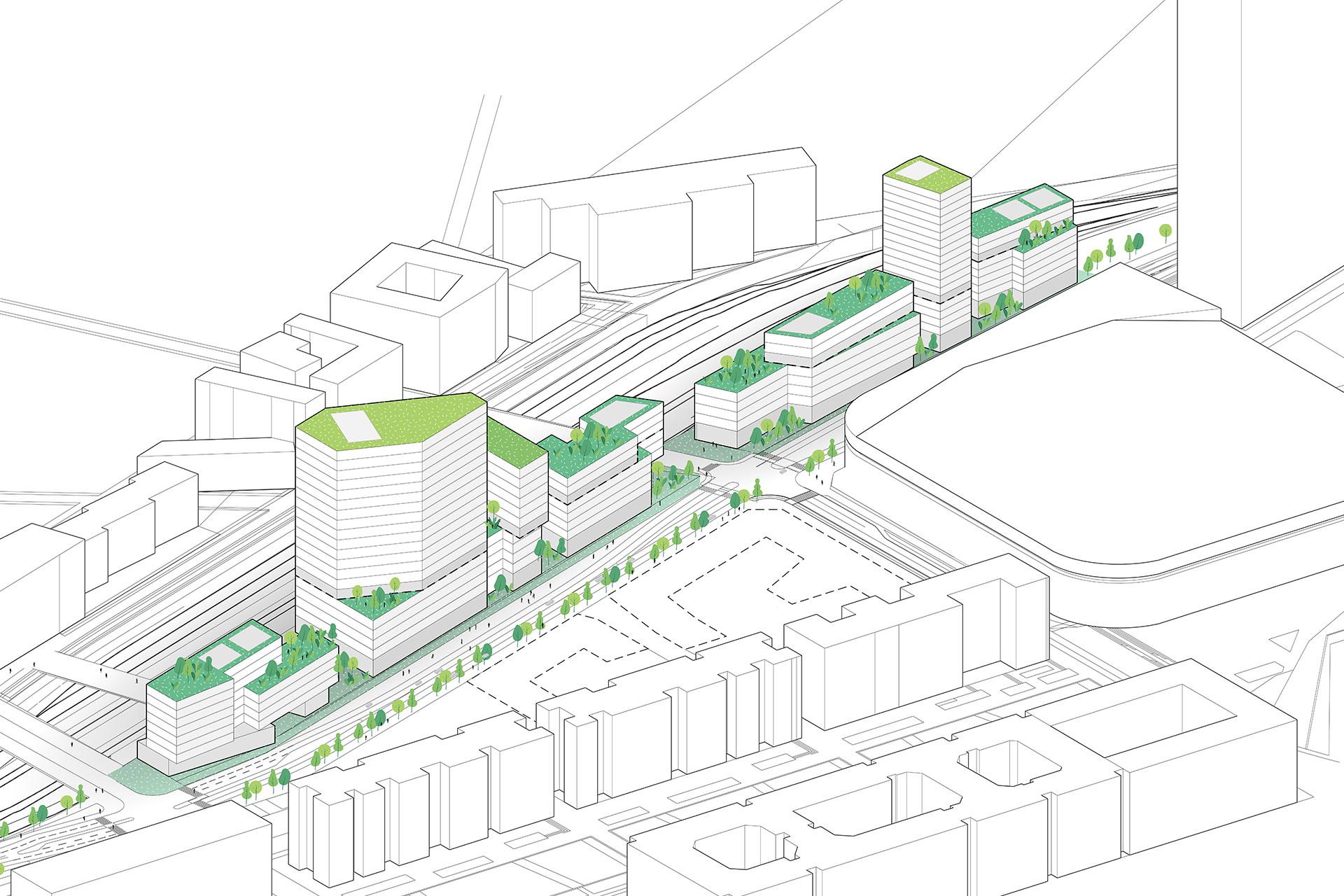 Saa Architectes Urbanisme La Defense Les Groues Nanterre05