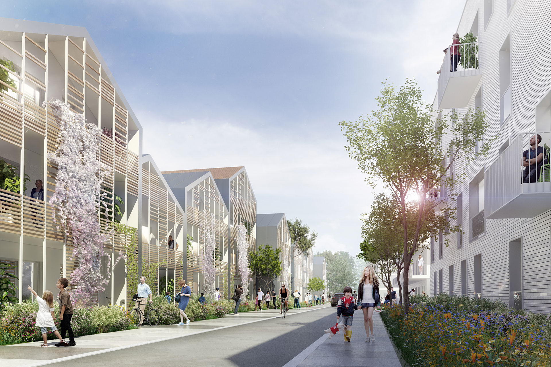 Saa Architectes Bureaux Roseraie Toulouse