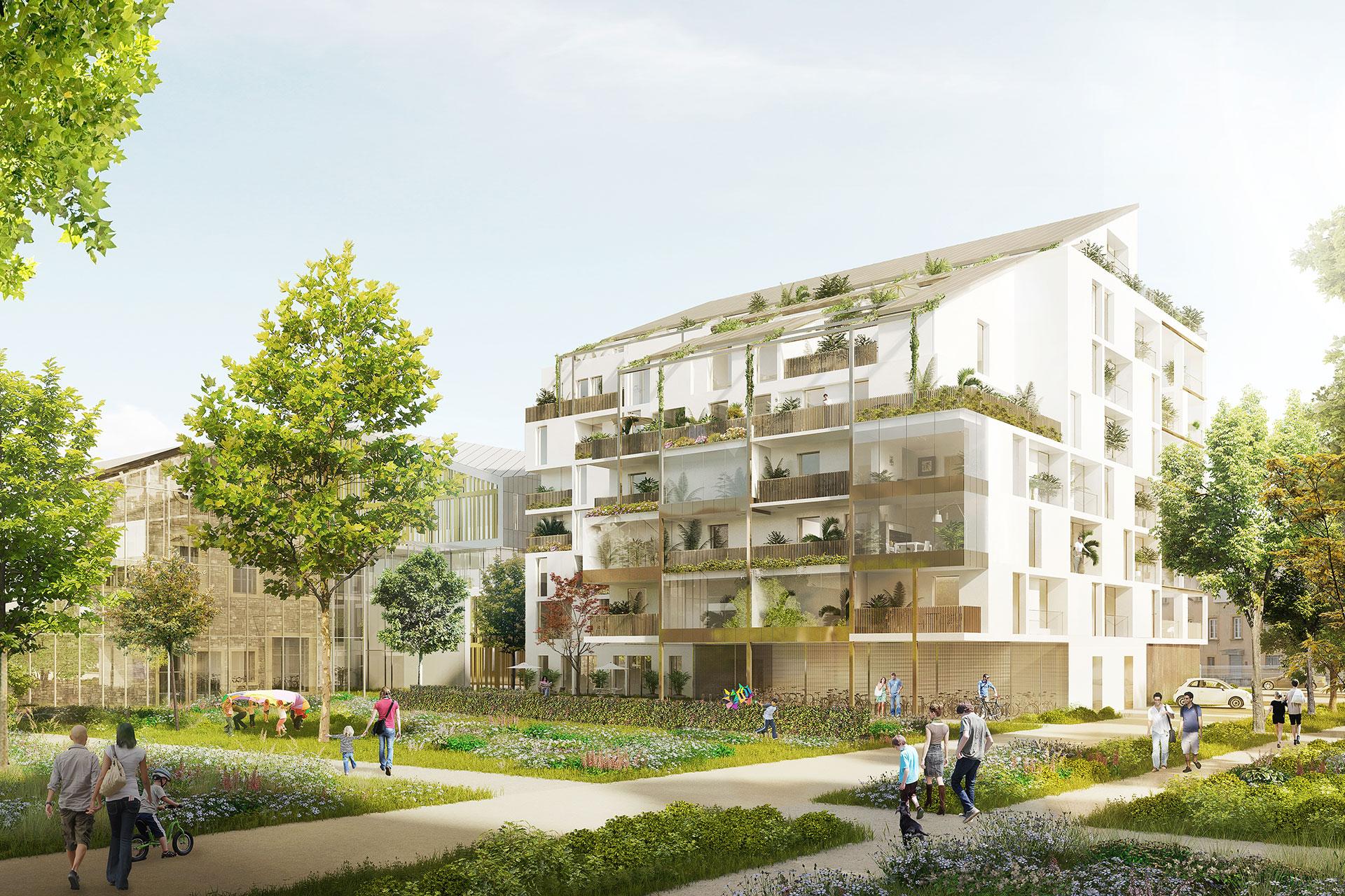 Saa Architectes Logements Gerland Lyon