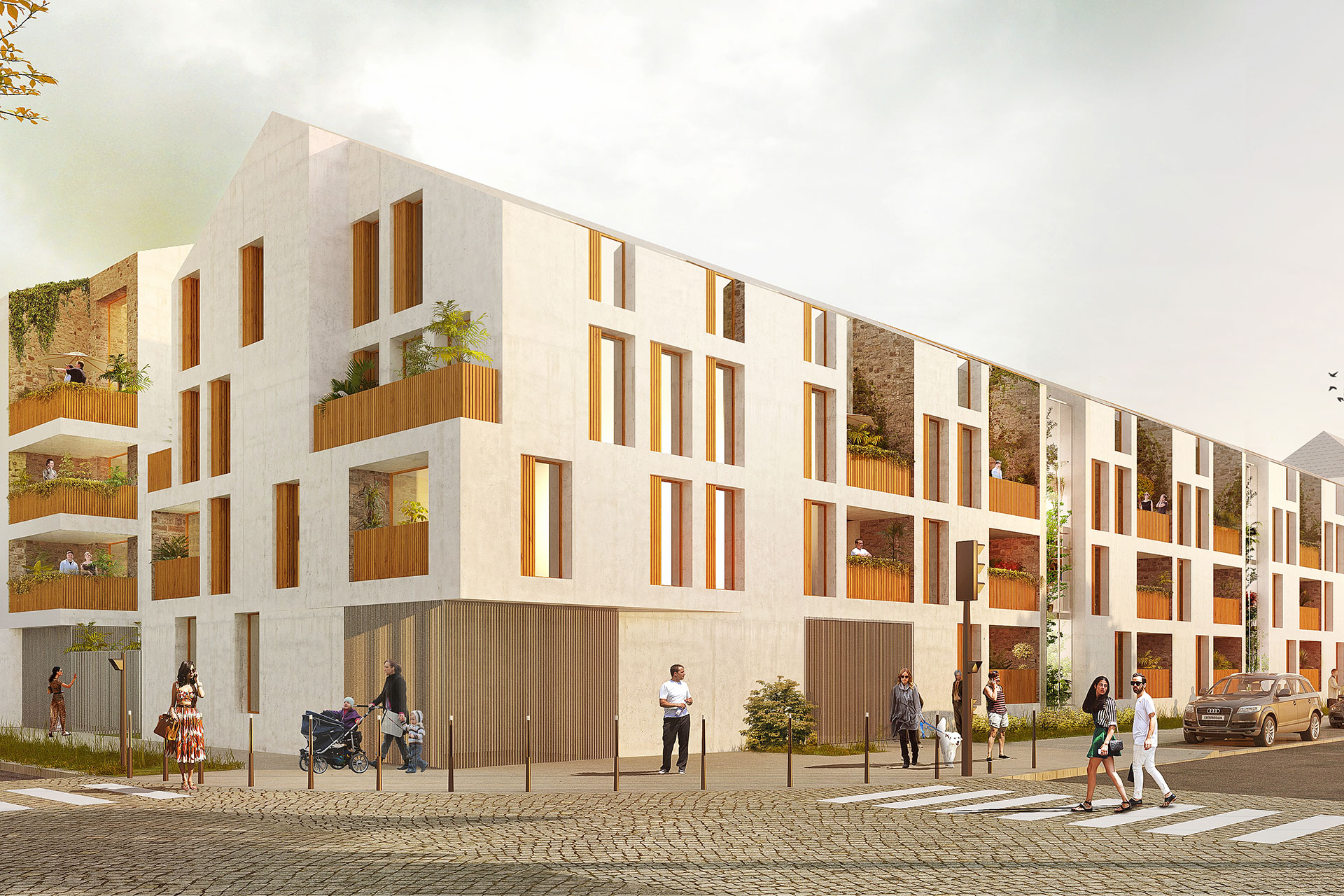 Saa Architectes Logements Hameau Montrevain03