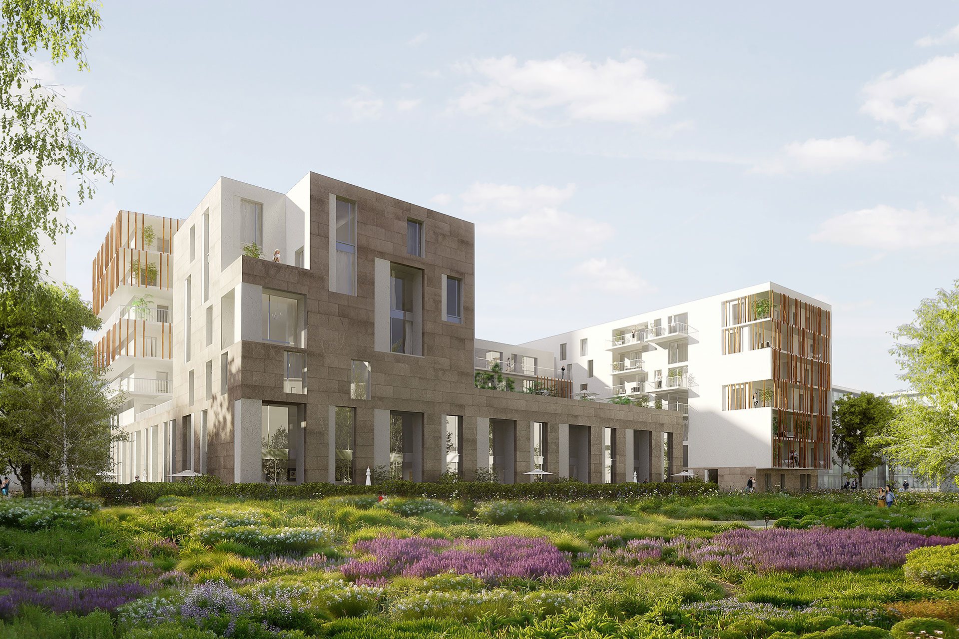 Saa Architectes Logements Parcetjardin Gennevilliers