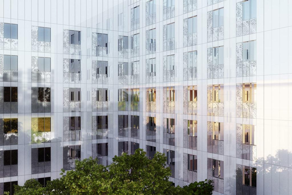 Saa Architectes Logements Portedorée Parisxii03