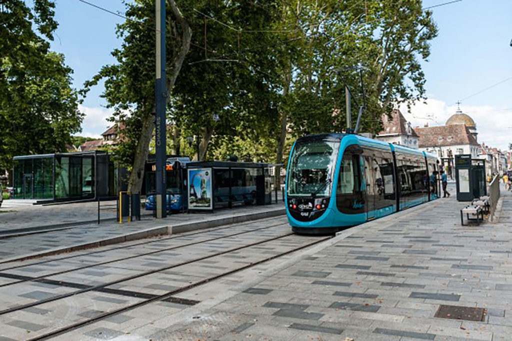 Saa Architectes Urbanisme Tramway Besancon