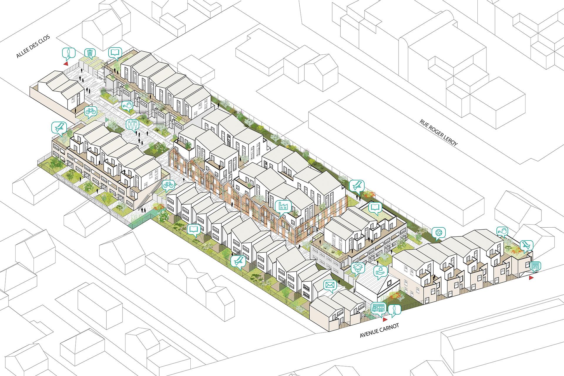 Saa Architectes Logements Coureeboulet Conflans2