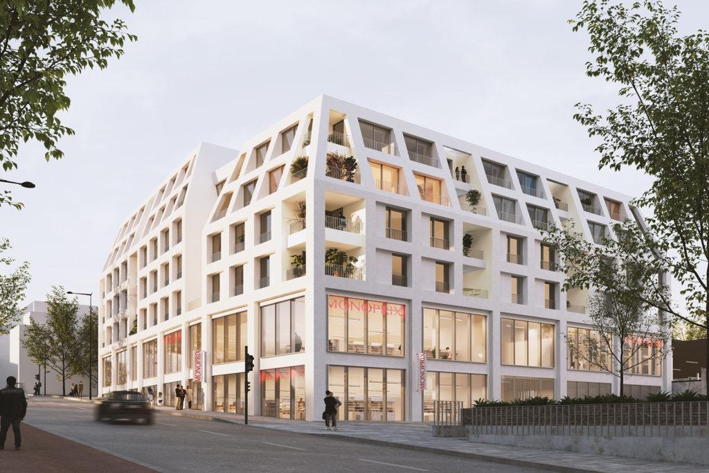 Saa Architectes Logements Marche Sucy Perspective 03